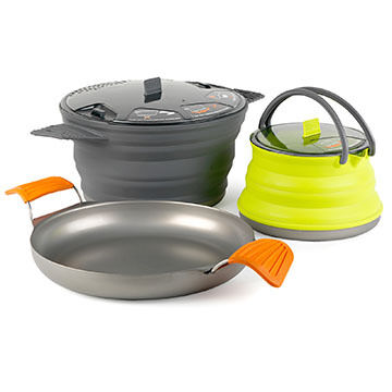 Sea to Summit X-Set 32 Cook Set - X-Pot, X-Kettle & X-Pan