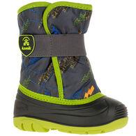 Kamik Toddler Boys' & Girls' Snowbug 4 Insulated Winter Boot