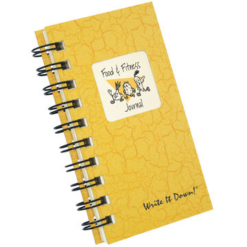 Journals Unlimited Write it Down! Mini-Size Food & Fitness Journal