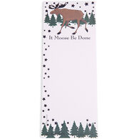 Hatley Little Blue House It Moose Be Done Magnetic List Notepad