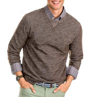 Southern Tide Men's Upper Deck Twill Crew Long-Sleeve Sweater