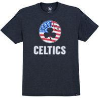 47 Brand Men's Boston Celtics American Short-Sleeve T-Shirt
