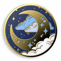 PopSockets Enamel Fly Me To The Moon SwapTop PopGrip