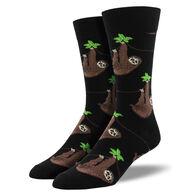 Socksmith Design Men's Sloth Crew Sock
