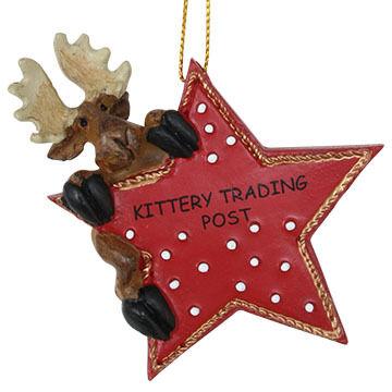 Big Sky Carvers Moose Star Ornament - KTP