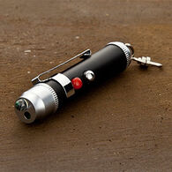 True Utility LaserLite LED Torch & Red Laser Beam Pocket Flashlight