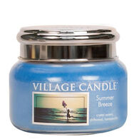 Village Candle Small Glass Jar Candle - Summer Breeze