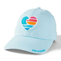 Life is Good Men's Clean Wave Heart Chill Cap
