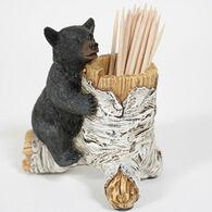 Slifka Sales Co Bear Toothpick Holder