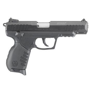 Ruger SR22 Black Polymer / Black Anodized 22 LR 4.5 10-Round Pistol