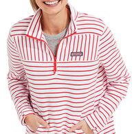 Vineyard Vines Women's Mixed Stripe Relaxed Shep Long-Sleeve Top