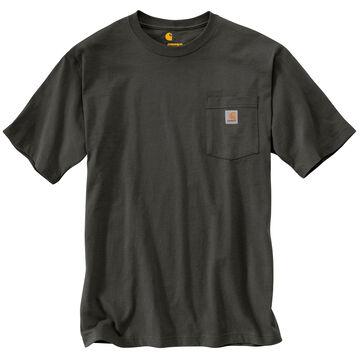 Carhartt Mens Big & Tall Workwear Short-Sleeve Pocket T-Shirt