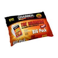 Grabber Toe Warmer Eight Pair Pack