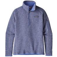 Patagonia Women's Better Sweater 1/4-Zip Fleece Top