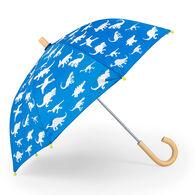 Hatley Boys' Color Changing Dinosaur Menagerie Umbrella