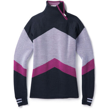 SmartWool Womens Dracono Ski Funnel Neck Sweater