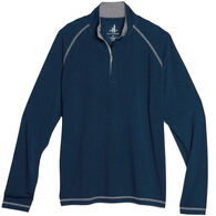 johnnie-O Men's Collier Bamboo Blend Quarter Zip Long-Sleeve Pullover