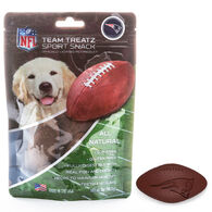 Pets First New England Patriots Team Treatz Dog Snack - 7 oz.