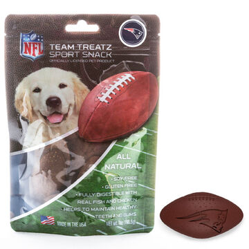 Pets First New England Patriots Team Treatz Dog Snack - 7 oz.