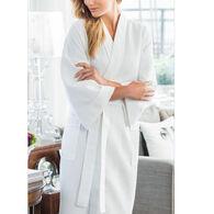 Majestic International Women's Somerset Waffle Kimono Robe