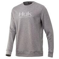Huk Men's Finn Crew Long-Sleeve Sweatshirt