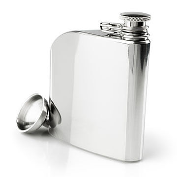 GSI Outdoors Glacier Stainless 6 oz. Trad Flask