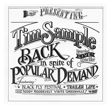 Back in Spite of Popular Demand CD by Tim Sample