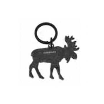 Munkees Stainless Steel Moose Keychain Bottle Opener