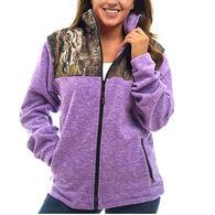 Trail Crest Women's Mossy Oak Full-Zip C-Max Fleece Jacket