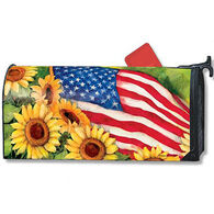MailWraps American Sunflowers Magnetic Mailbox Cover