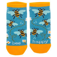 Karma Women's Bee Happy Ankle Sock