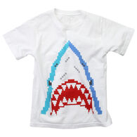 Wes And Willy Boy's Bitmap Shark Short-Sleeve T-Shirt