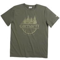 Carhartt Boy's Force Camp Fish Hunt Short-Sleeve T-Shirt