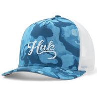 Huk Women's Current Camo Balmy Trucker Hat