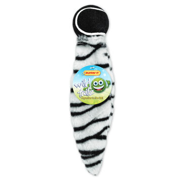 Ruffin It Wild Tails Tennis Ball Dog Toy