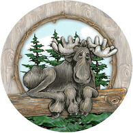 Thirstystone Big Sky Moose Coaster Set, 4-Piece