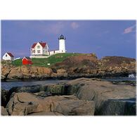 Lori A. Davis Photo Card - Nubble Light