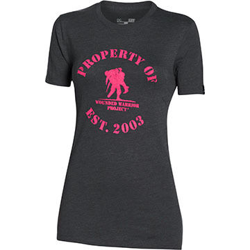 Under Armour Women's WWP Property Of Short-Sleeve T-Shirt