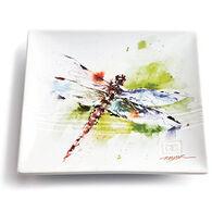 Big Sky Carvers Dragonfly Snack Plate