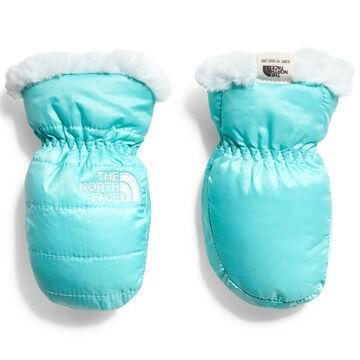 The North Face Infant Girls Reversible Mossbud Swirl Mitt