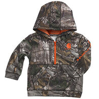 Carhartt Infant/Toddler Boys' Camo Half-Zip Hooded Sweatshirt