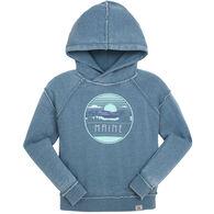 Techstyles Women's Maine Joy Patrol Hooded Sweatshirt