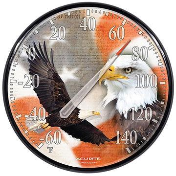"AcuRite 12.5"" Soaring Eagle Thermometer"