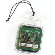 Yankee Candle Car Jar Ultimate - Balsam & Cedar