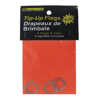 HT Enterprises Tip Up Flag w/ Clips - 3 Pk.