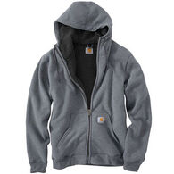 Carhartt Men's Collinston Brushed Fleece Sherpa-Lined Sweatshirt