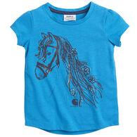 Carhartt Toddler Girl's Foil Horse Short-Sleeve T-Shirt
