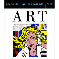 Art 2020 Page-A-Day Gallery Calendar by Workman Publishing
