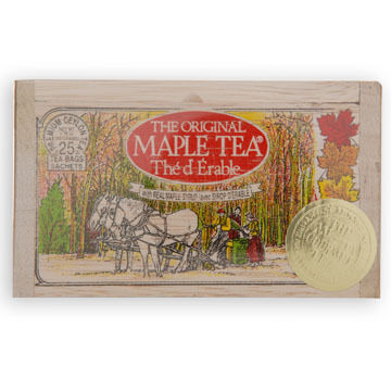Metropolitan Maple Tea Soft Wood Chest, 25-Bag
