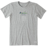 Life is Good Women's Lake My Day Vintage Crusher Short-Sleeve T-Shirt